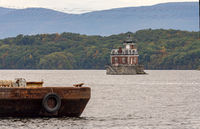 Hudson Athens Lighthouse Beacon Station River New York