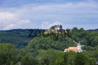 Donaustauf bei Regensburg, Bayern, Deutschland