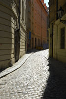 Lane in the Old Town, Prague