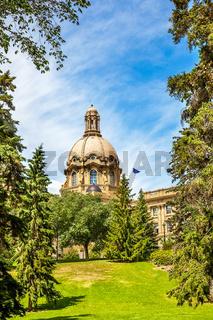 Alberta Legislature Building Edmonton Alberta Canada