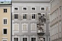Salzburg - Florianibrunnen, Alter Markt, Österreich