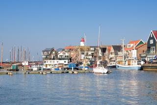 Fischerort Urk am Ijsselmeer,Provinz Flevoland,Niederlande