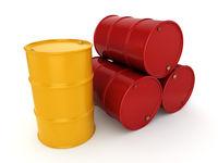 3D rendering barrels