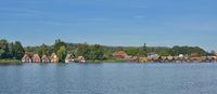 Village of Mirow in Mecklenburg Lake district,Mecklenburg western Pomerania,Germany