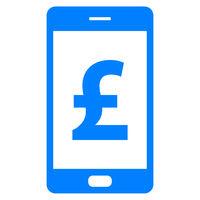 Britisches Pfund und Smartphone - Pound sterling and smartphone
