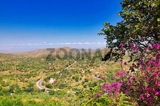 Ausblick am Kamuzu Viewpoint ins Tal, Malawi   view from Kamuzu Viewpoint in the valley, Malawi
