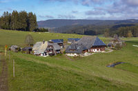 Oberfallengrundhof near Gütenbach in the Black Forest