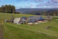 Oberfallengrundhof near Gütenbach in the Black Forest