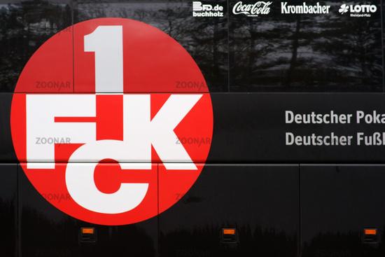 Team bus 1. FC Kaiserslautern