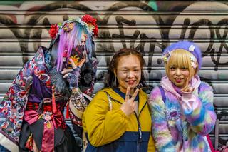 Cosplay Girls, Tokyo, Japan