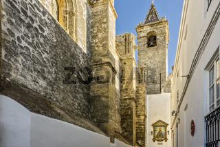 Church Of Divino Salvador,  Vejer de la Frontera, Andalucia, Spain