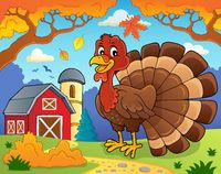 Turkey bird theme image 2