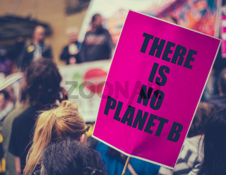 Climate Change March Sign