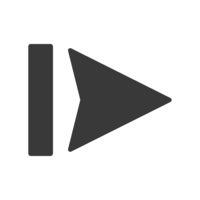 Skip Forward Icon Vector