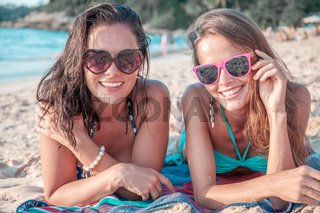 Women on vacation