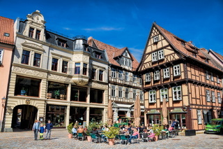 Quedlinburg, Stadtzentrum