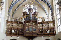 Organ in the parish church St. Mary of the Angels