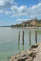 Passignano sul Trasimeno at Lake Trasimeno,Umbria,Italy