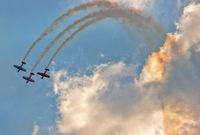 Zhukovsky, Russia - September 01, 2019: International Aviation and Space Salon
