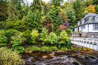 little river in Monschau, Eifel