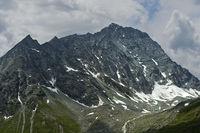 Felsige Bergkette der Schweizer Alpen