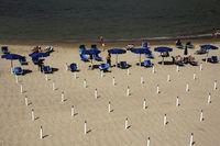 Strand, Lerici, Ligurien, Italien