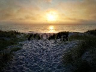 Fischland Sonnenuntergang
