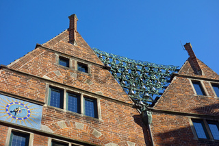 Haus des Glockenspiels in Boettcherstraße in Bremen