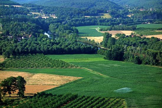 Domme in the Dordogne