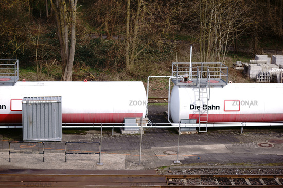 Liquid tanks for diesel