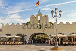 The Agora (Market) Cos Town Cos Greece