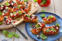 Greek pita bread appetizers