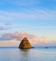 Landscape ocean, fisher cliff Portugal