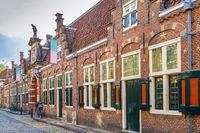 Groot Heiligland street, Haarlem, Netherlands
