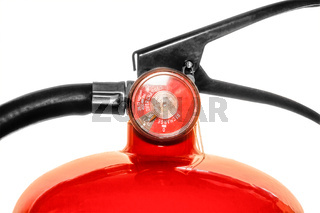 Part of fire extinguishe