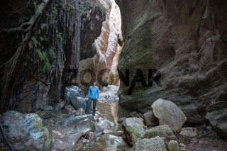 Canyon in Cyprus