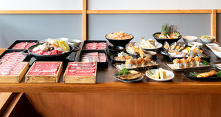 Japanese Sukiyaki and food