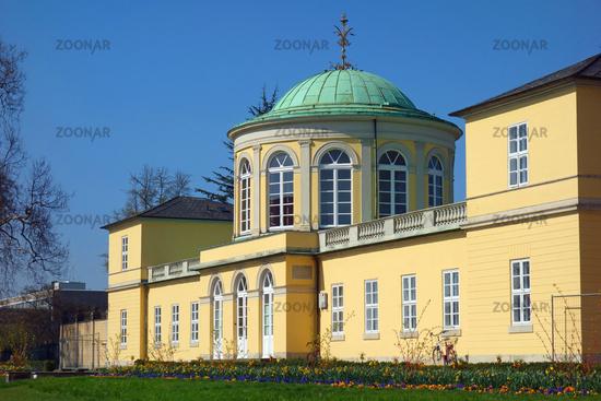 baroque castle herrenhausen, hannover, germany