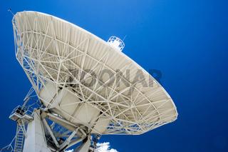 satellite dish close up horizontal