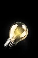 Classic light bulb.