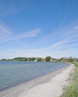Village of Alt Reddevitz on Ruegen,baltic Sea,Mecklenburg western Pomerania,Germany