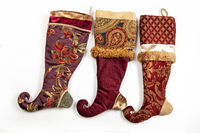 Christmas Embroidered Sock