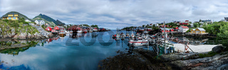 A tranquil and quaint fishing village