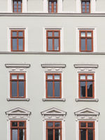 Close-up of a historic building in the old town of city Goerlitz, Saxony, Germany