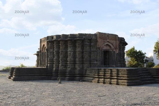 Daitya Sudan temple side view, Lonar, Buldhana District, Maharashtra, India