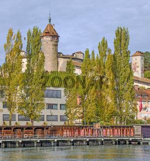 Festung Munot und Stadt Schaffhausen, Schweiz