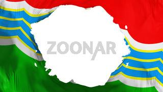 Broken Tiraspol city flag