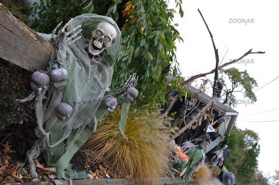 Halloween in New England, Boston, Massachusetts, USA