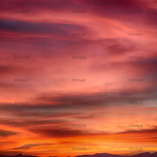 in  philippines  abstract cloud and sunset