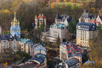 Karlovy Vary in Czech Republic